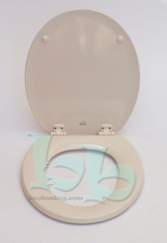 Bemis Soft Cream Toilet Seat Lid And Fittings